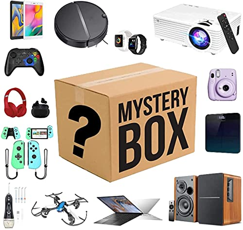 Mystery Box, (Electronic Equipment) Lucky Box Can be Opened: The Latest Mobile Phones, Drone, Smart Watches, Air Purifiers Etc Everything is Possible!