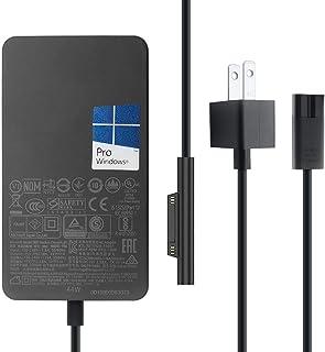 マイクロソフト 1800電源ACアダプター新品 for Microsoft Surface Pro 5/ Surface Pro 6、Surface Pro LTE Advanced、Surface Laptop 2、Surface Book ...