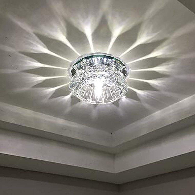 LED False Deckenleuchten Korridor Licht mit klarer Farbe, Dimmen (Warm Light + Weiß Light)