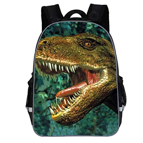 🔥Kinderrucksack Jungen Mode 3D Cartoon Dinosaur Kindergartentasche Schulrucksack Schultasche Rucksack Kinder Niedlich Daypack Allence