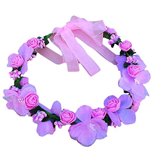 Namgiy - Diadema de Flores con Corona Floral para el Pelo, Accesorio p