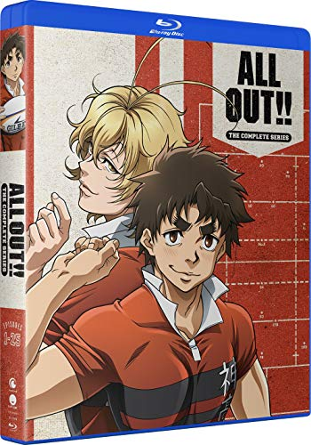 ALL OUT!!: The Complete Series [Blu-ray]