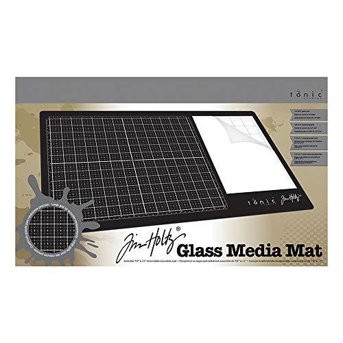Tim Holtz Glass Media Mat ,Black