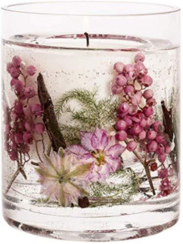 ZHANG Velas Perfumadas, Vela Botánica de Cera Natural Perfumada de Regalo ámbar para Pascua/Día de San Valentín/Aniversario/Cumpleaños,C