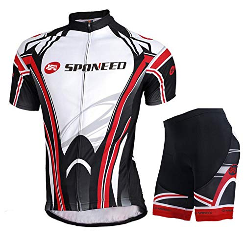 Cycling Shorts Jersey Pants Bike Shirt Outdoor Sportwear Bicycle Short Sleeve Sets US XL