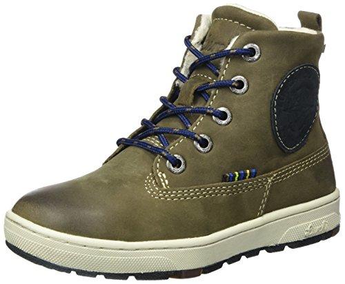 Lurchi Jungen Doug-TEX Combat Boots, Beige (Fossil Atlantic 49), 33 EU