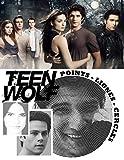 Teen Wolf Points Lignes Cercles: Nouveau type de livre de Coloriage pour les Adultes