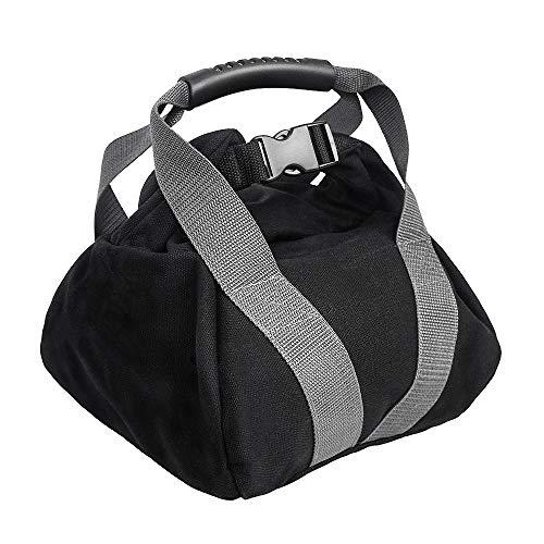 CestMall Peso Kettlebell la Bolsa de Arena, Ajustable formación Pesas Lleno de Entrenamiento de Fitness Bolsa manija cómoda de la Hebilla de Bloqueo de la Bolsa de Arena portátil