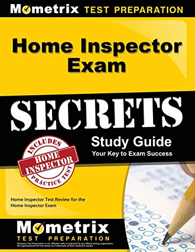 Price comparison product image Home Inspector Exam Secrets Study Guide: Home Inspector Test Review for the Home Inspector Exam