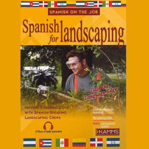 Spanish for Landscaping audiobook cover art