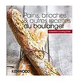 Kenwood - pwk4046 - Livre de recettes pains, brioches et autres recettes du boulanger