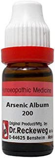 Dr. Reckeweg Homeopathy Arsenic Album (11 ML) (Select Potency) (200 CH)