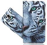 Wiko View Go Handy Tasche, FoneExpert® Wallet Hülle Flip Cover Hüllen Etui Hülle Ledertasche Lederhülle Schutzhülle Für Wiko View Go