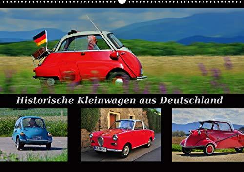 Historische Kleinwagen aus Deutschland (Wandkalender 2021 DIN A2 quer)