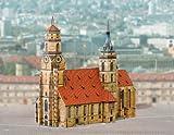 Aue Verlag 23x 10x 21cm Collegiate Kirche Stuttgart Germany Model Kit