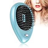 Electric Lonic Hair brush Massage with Vibration Therapy & Negative Ion, Portable Anti-Static Massage Electric Hairbrush for Women Men Girls Boys