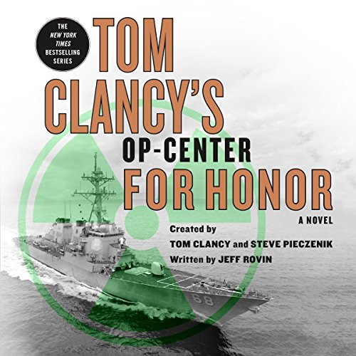 Tom Clancy's Op-Center: For Honor audiobook cover art