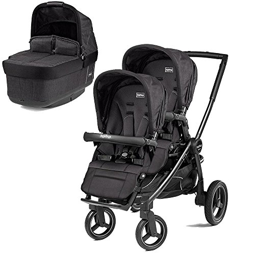Great Features Of Peg Perego Team Stroller w/ 2nd Popup Seat - Onyx