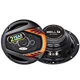 Lightweight elastic polymer surround. Perfect fit on rear tray 1 Year Standard Warranty 1 Year Additional Warranty on FREE Registration 4 Way Speaker System with Rubber coated cloth surround adding style to your car High performing 6 inch Round Speak...