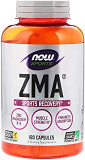Now Foods Sports ZMA Sports Recovery - 180 Capsules
