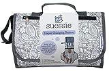 Wickelunterlage für Unterwegs - Wickelauflage für Babies - Kompakte, Wasserdichte Wickeltasche mit Wickelunterlage