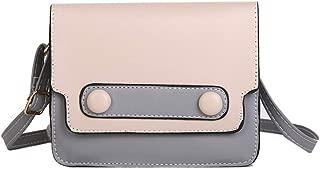 Auppova Women's Retro Shoulder Bag | Fashion Wild Shoulder Purse Messenger Bag Crossbody Bag Mini Lady