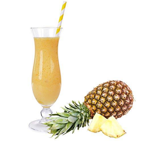 Ananas Molkepulver Luxofit mit L-Carnitin Protein angereichert Wellnessdrink Aspartamfrei Molke (Ananas, 1 kg)
