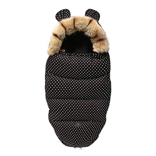 Baby Kinderwagen-Schlafsack für den Winter, warm, für Neugeborene, Fußsack, Winter-Outdoor-Tour, Kinderwagen, Schlafsack