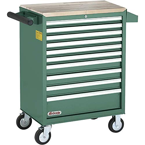 Grizzly Industrial H7730-10 Drawer Rolling Tool Cabinet