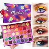 Eyeseek Colorful Eyeshadow Palette 35 Colors High Pigmented Makeup Palette Metallic And Shimmer Eyeshadow Pallet Easy To Blend Long Lasting Eye Shadow Makeup Pallet