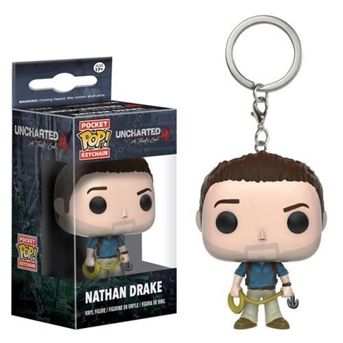 Uncharted Nathan Drake Pop! Vinyl Figure Key Chain by Uncharted