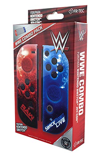 WWE Switch Hardcover + Grips