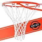 Ultra Sporting Goods Heavy Duty Basketball Net Replacement - All Weather Anti Whip, Fits Standard Indoor or Outdoor Rims - White, 12 Loops