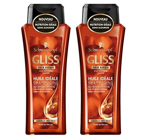 Schwarzkopf - Gliss - Shampooing Cheveux Très Secs -...