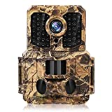 Wildlife Trail Camera Waterproof IP65 Outdoor Hunting Camera with 3 Infrared Sensors 20MP 1080P Full...