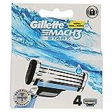 Gillette Mach3 Start Recambio Maquinilla de Afeitar - 4 Unidades