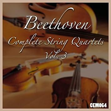 Beethoven: Complete String Quartets, Vol. 3