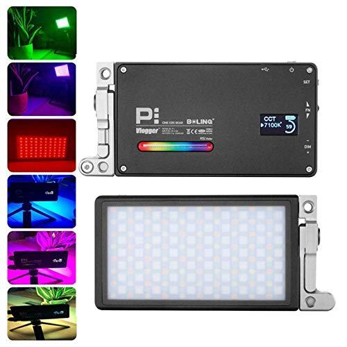 Boling BL-P1 RGB-LED-Videoleuchte, 2500 K-8500 K, 12 W, 360 ° Vollfarb-CRI 96 Aluminium, Luftfahrt, 9 Common-Szenario-Simulationen, Kamera/Camcorder, Licht, Taschengröße
