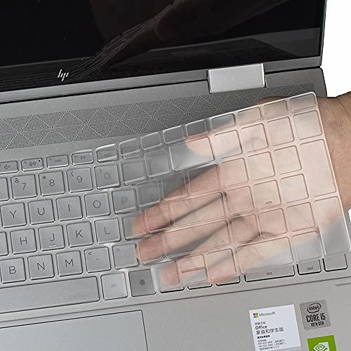 Tastaturabdeckung für 2020 HP Envy x360 2-in-1 15.6 mit Fingerabdruckleser 15M-ED0013DX ED0023DX EE0013DX / 2020 HP Envy 17 17t 17-cg Fingerabdruckleser Laptop 17t-cg000 17 CG 0019nr Tastaturfolie
