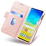 Coque Compatible avec Samsung Galaxy S10e, Ultra Mince Portefeuille, Emplacement...