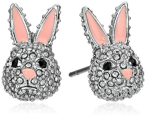 kate spade new york RABbit Studs Clear Stud Earrings
