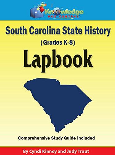 South Carolina State History Lapbook - KIT