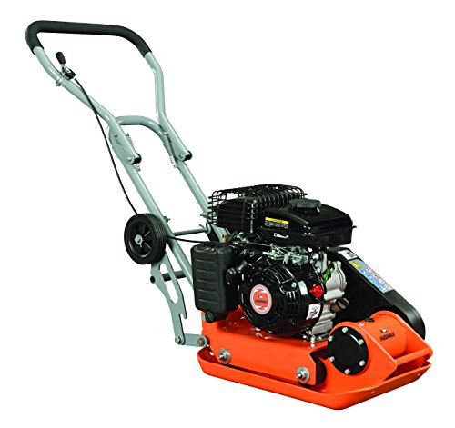 YARDMAX Plate Compactor with Wheels