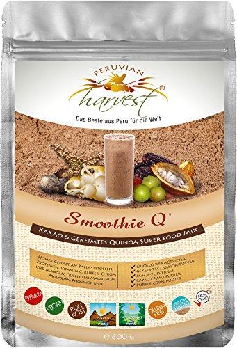 UHTCO Peruvian Harvest Smoothie Q - Super Food Mix 600g | Das Beste aus Peru für die Welt