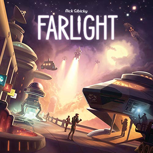 Game Salute farlight brettspiel