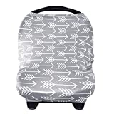 Nursing Cover Breastfeeding Scarf - Baby Car Seat Covers, Infant...