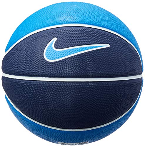 Bola de Basquete Swoosh Mini Nike 3 Binary Blue/White