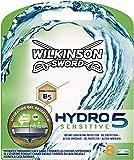 Wilkinson Sword - Hydro 5 Sensitive - Lames de rasoir pour Homme - Pack de 8 lames