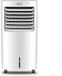 YONG FEI Aire acondicionado portátil: suministro de aire de gran angular, tanque de agua de 10 l, recordatorio inteligente de escasez de agua, 7 tipos de sensación de viento, sistema de aire acondicio