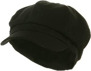 Cotton Elastic Newsboy Cap